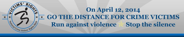 """Go the Distance for Crime Victims 5K run/walk, Saturday, April 12, 2014. """"Proceeds from the 2014 Go the Distance for Crime Victims 5K Run/Walk will continue to directly benefit victims of crime in Eastern Iowa. The proceeds generated from this event will aid many different types of victims including survivors of homicide/vehicular homicide victims, domestic violence victims, victims of sexual assault and many other crime victims."""""""