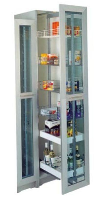 Las 25 mejores ideas sobre armario despensero en for Accesorios para interiores de armarios de cocina