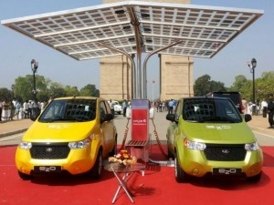 Mahindra rolls out e2o electric car at Rs.5.96 lakhs