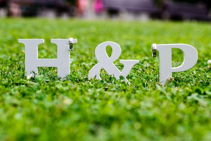 svatební iniciály