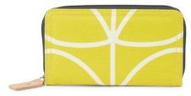 Orla Kiely Multiple-Slot Zip-Around Wallet