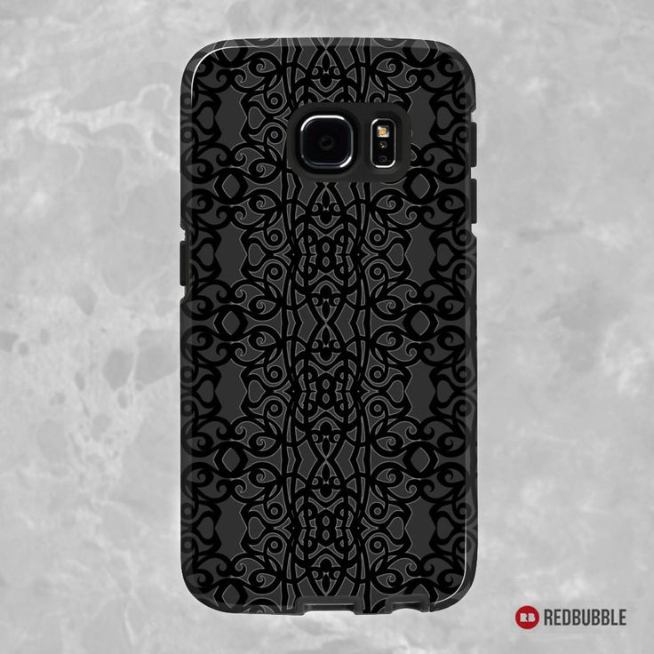 """SOLD Samsung Galaxy S7 Case  """"Lace Embroidery Design"""" https://www.redbubble.com/people/medusa81/works/11163870-lace-embroidery-design?asc=u #redbubble #case #cases #smartphone #electronic #accessories #samsung #galaxys7 #Skins #Lace #Embroidery #Design #dark #crochet #textile"""