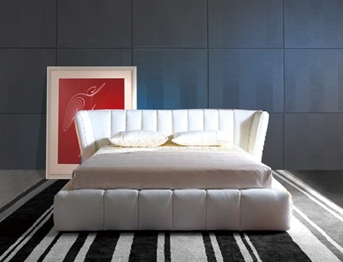 Wehn Leather Bed Frame