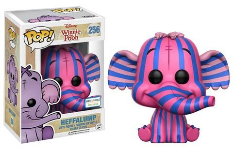 Winnie the Pooh: Striped Heffalump Pop figure by Funko, Barnes & Noble exclusive