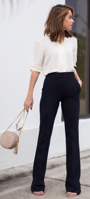 17 Best ideas about White Dress Pants on Pinterest | High waist ...