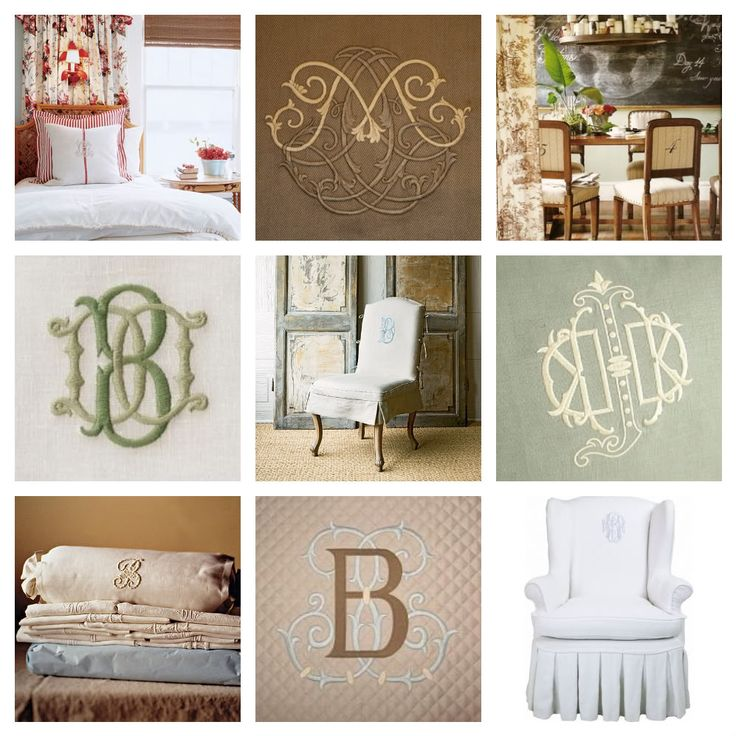 Monogram Ideas: Take A Look At These Creative Monogram Ideas For Some Great  Ideas To Personalize Items Around Your Home.