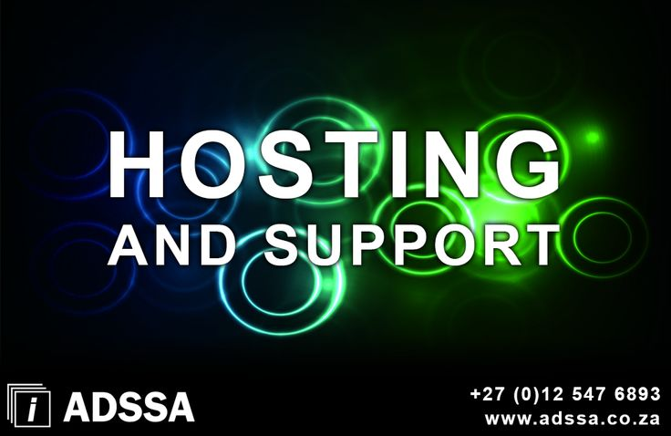 Hosting and Support   Hosting, DNS administration, e-mail accounts, bandwidth monitoring, general website support, web statistic monitoring, search engine optimisation and much more.   http://adssa.co.za/hosting-and-support/