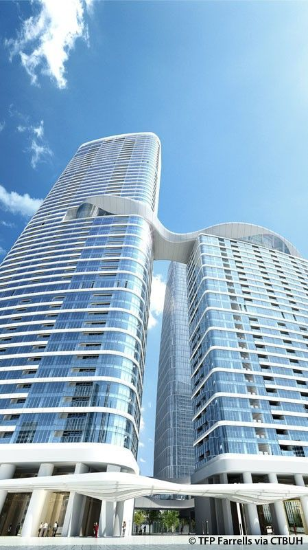 One Excellence Tower 4 - The Skyscraper Center #futuristicarchitecture