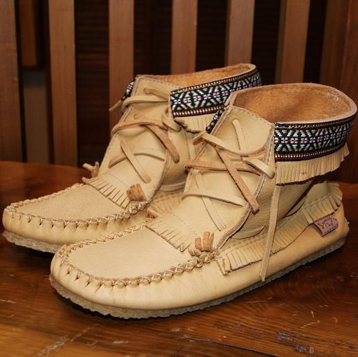30 best images about Moccasin Boots on Pinterest | Black suede ...