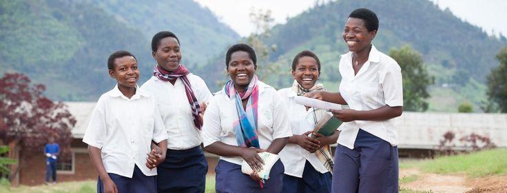 The Ni Nyampinga role models inspiring girls in Rwanda