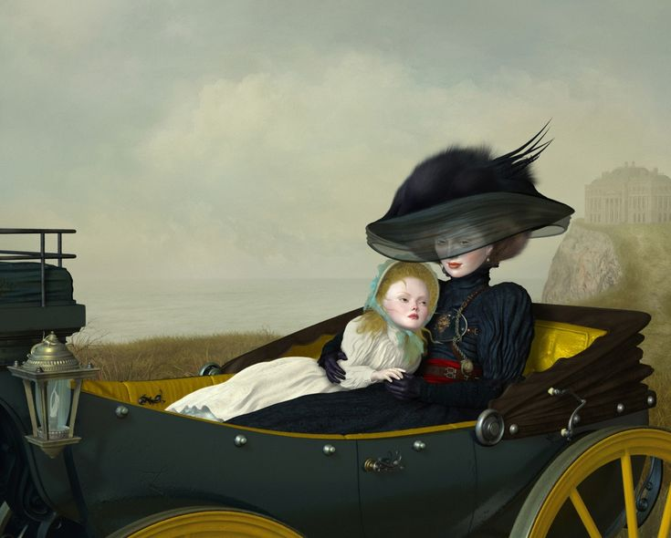 """""""The Day After Yesterday"""" 2014 by Canadian visual artist Ray Caesar (b.1958)"""