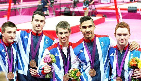 Team GB Medals 2012  03. Men's Gymnastics Team (Louis Smith, Max Whitlock, Daniel Purvis, Sam Oldham and Kristian Thomas)- BRONZE  (Gymnastics, Artistic: Men's Team)