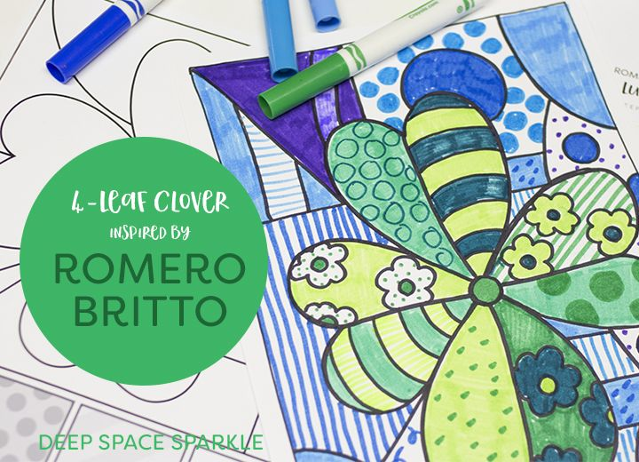 Romero Britto and Art Class go together like Spring Lamb and fresh mint. Britto's iconic pop art style, bright colors and inspiring patterns allow for endless possibilities when it comes to creating your own pop art inspired art. This lesson combines Britto's colorful style with a 4-leaf clover starter. Kids learn to draw a 4-leaf... View Article