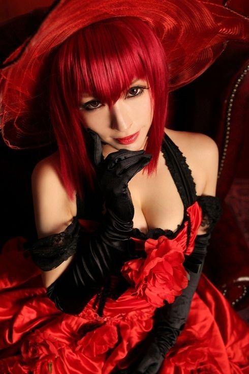 コスプレ部 ~ Madame Red ~ Kuroshitsuji (Black Butler) Cosplay