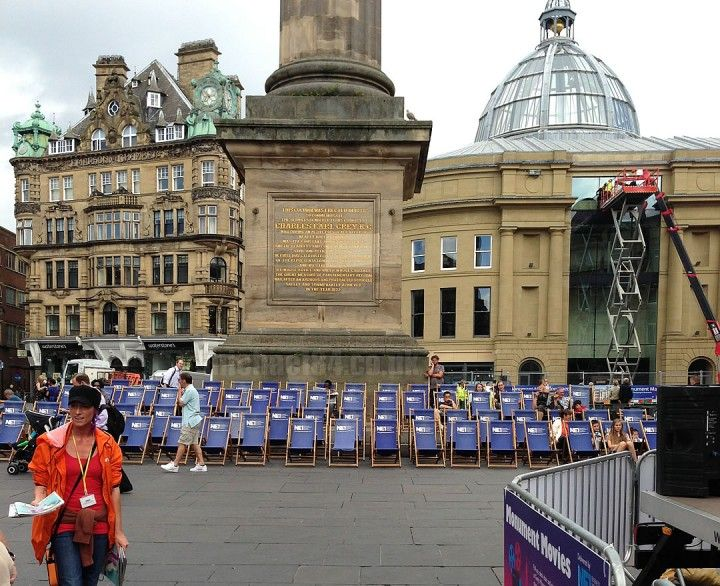 Watch Films Outdoors In Newcastle - Monument Movies #Newcastle