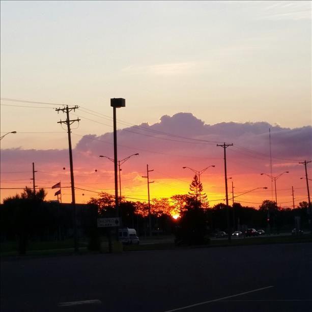 August morning sunrise Wisconsin- WLAX : kelseymischelle