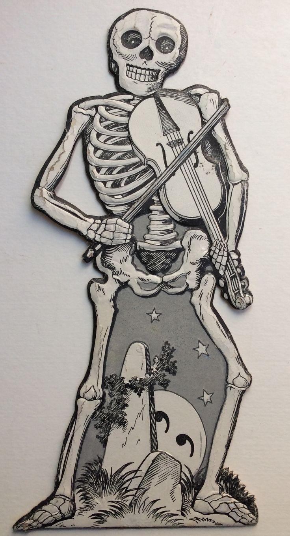 Милые скелеты рисунки