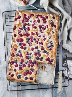 Brombeer-Himbeer-Kuchen