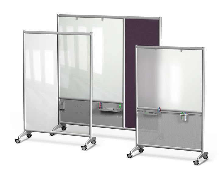 mobile glass dry erase boards available in clear frosted or white glass european