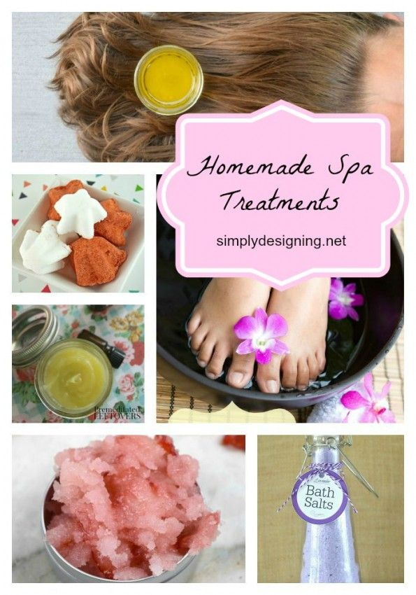 Short on time or money but still want to be pampered? Check out these fun Homemade Spa Treatments that you can do yourself without breaking the bank!