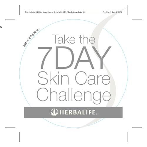 Take the 7 day skin care challenge - Button - SKIN  www.lmfvitality.co.uk