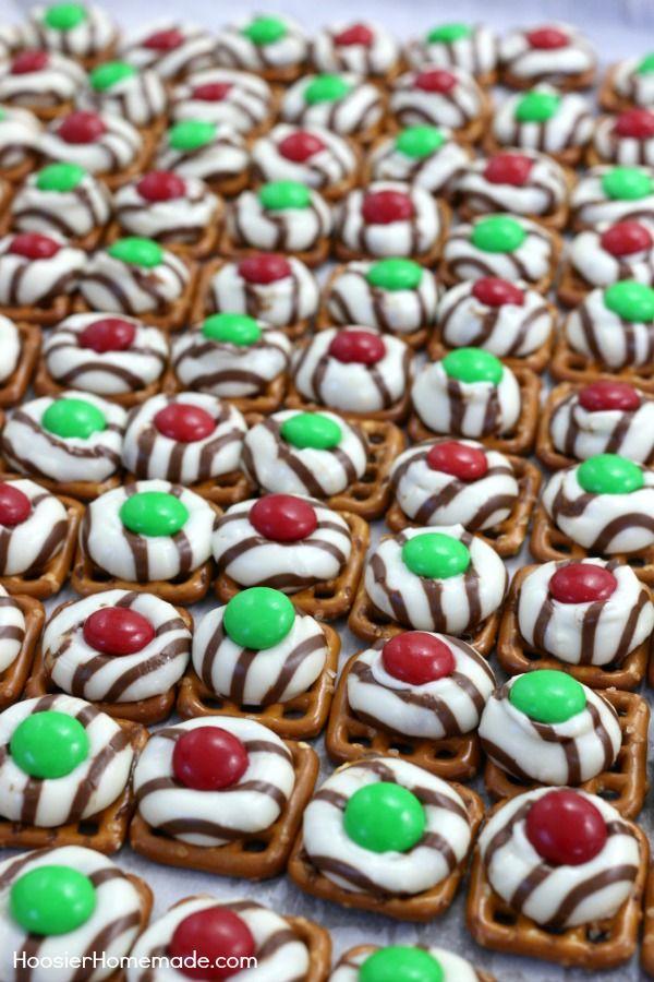 Best ideas about christmas pretzels on pinterest