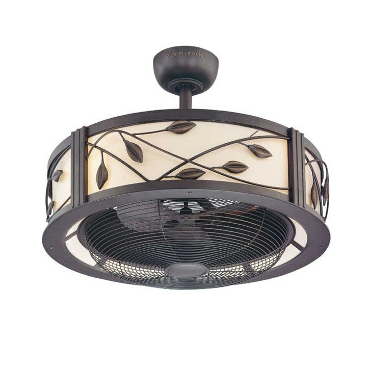 retro ceiling fan with light | campernel designs