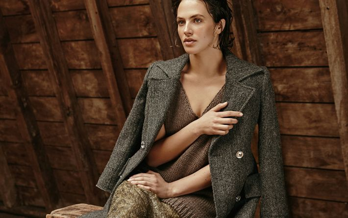 Download wallpapers Jessica Brown-Findlay, British actress, beautiful woman, knitted sweater, portrait