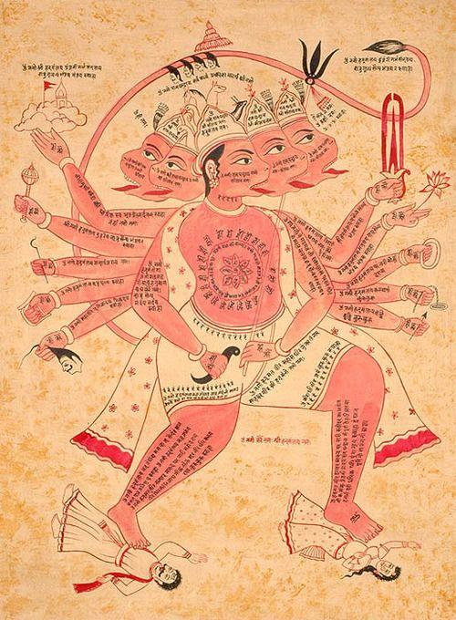 Hanuman.  http://en.wikipedia.org/wiki/Hanuman