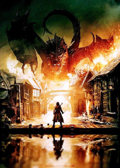 I can't be the only one who wanted smaug to just wreck everything like an absolute boss