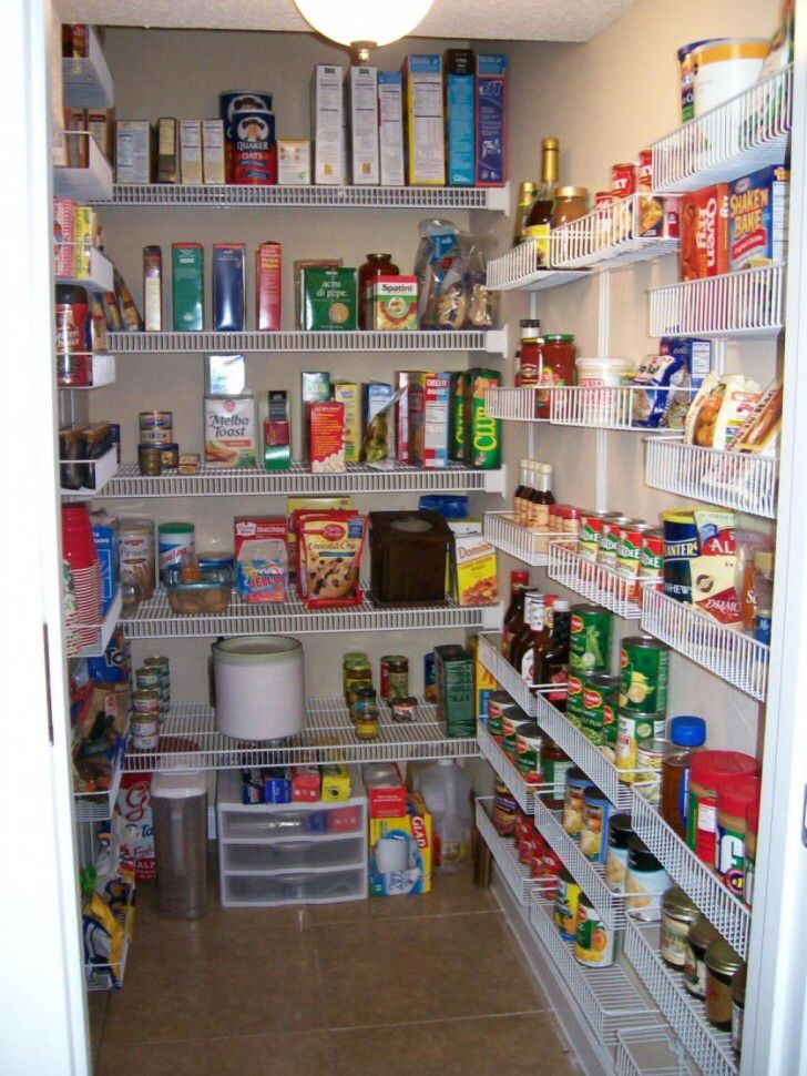 Great Walk in Pantry Enables You to Supply
