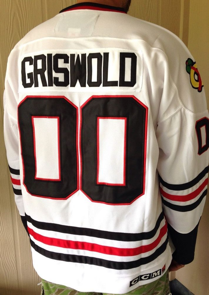 Griswold #Chicago Blackhawks #00 Clark Christmas Movie Ccm #Hockey Jersey 56/3xl from $69.99