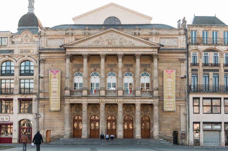 Théâtre Jean Vilar, St Quentin, Aisne - France