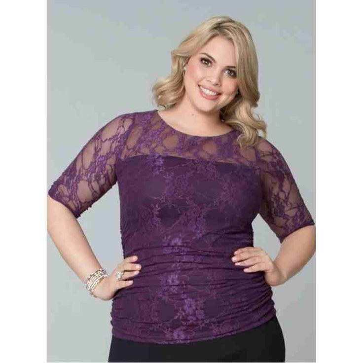 Smitten Lace Top (Plum Crazy) $15.00 http://www.curvyclothing.com.au/index.php?route=product/product&path=59_61&product_id=771