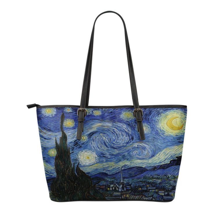 van Gogh - Starry Night Small Tote-KaboodleWorld