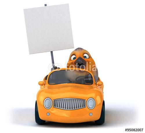 """Téléchargez la photo libre de droits """"Fun red robin"""" créée par julien tromeur au meilleur prix sur Fotolia.com. Parcourez notre banque d'images en ligne et trouvez l'image parfaite pour vos projets marketing !"""