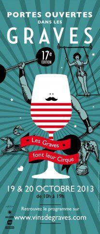 Les Graves font leur cirque - radis rose Portes ouvertes des châteaux de Bordeaux