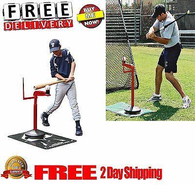 MacGregor Baseball Batting Tee T Ball Softball Hitting Aid Training Stand News