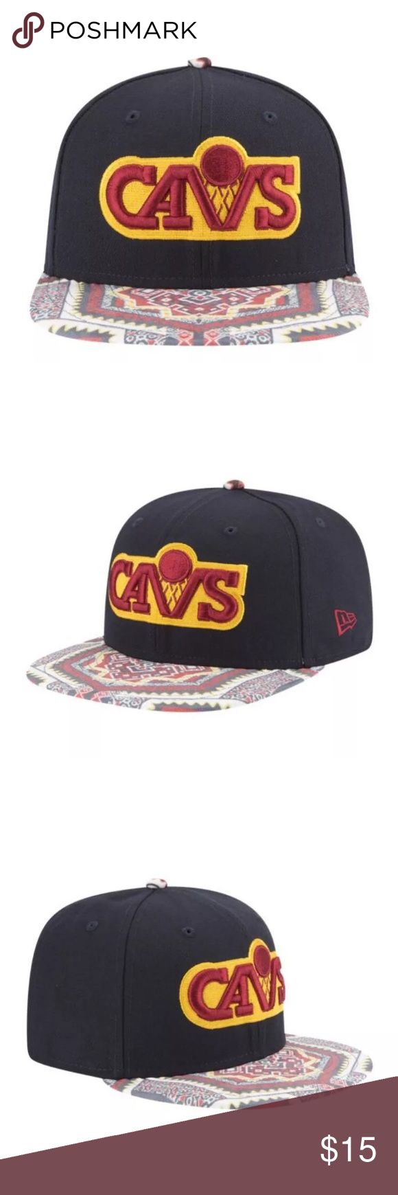 New Era 9Fifty Kaleidovize Native Cavaliers Hat RARE New Era 9Fifty Kaleidovize Native Cleveland Cavaliers Hat Cap Lebron James  Brand new  Adjustable for the perfect fit  Brand new with tags New Era Accessories Hats