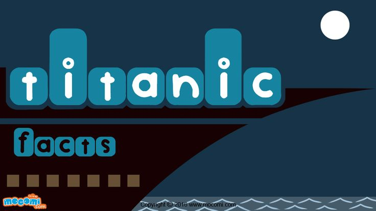 Titanic was one of the largest passenger ships of that time. More Titanic facts and history. For more GK articles for kids, visit: http://mocomi.com/learn/general-knowledge/