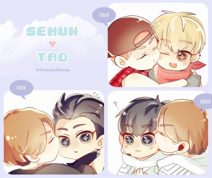 Suho vs Taohun | .exo.
