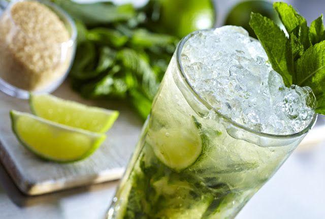 Refrescante mojito saludable sin alcohol Nuevo Estilo de Vida: Mojito virgen
