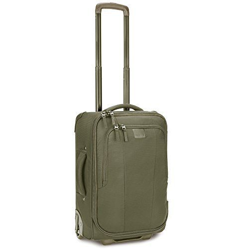 New Trending Luggage: Pacsafe Toursafe, Jungle Green, One Size. Pacsafe Toursafe, Jungle Green, One Size   Special Offer: $129.99      433 Reviews Anti-theft 21.5 inch, 55cm wheeled carry-onLeisure and lifestyle luggage collection features tough zip puncture resistant zippers book style opening lockable zipper pullers and exomesh slashguardsLightweight...