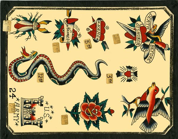 Tthu Thats The Hook Up Classic Vintage Tattoo Flash Spit Shade American Traditional