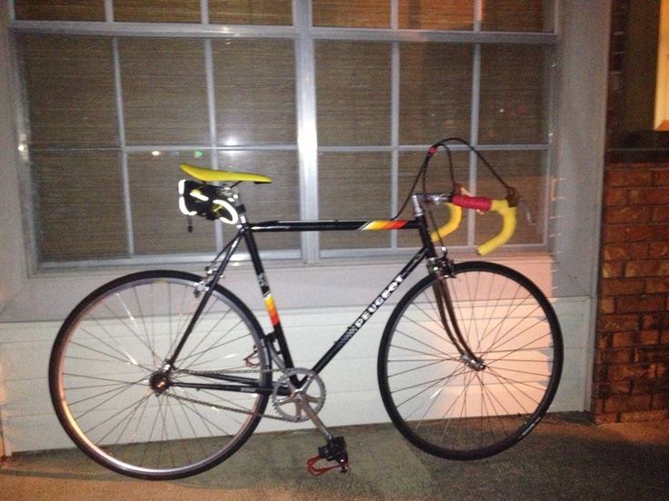 26 year old Peugeot Fixie convert
