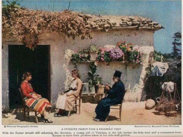 «Unspoiled Cyprus» 1928. Willem Jan Willemsen,  National Geographic