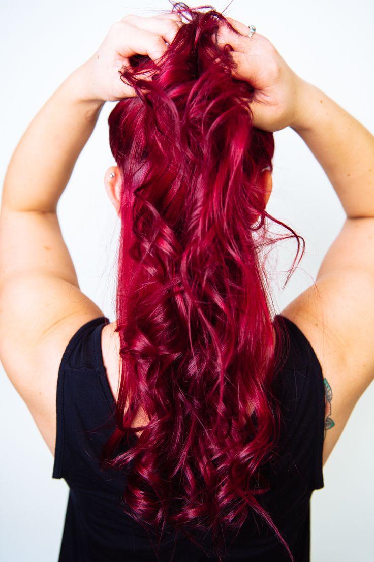 colored tresses cheveux colors coiffure pourpre vif pourpre 3 cheveux magenta rouge et en gras la couleur des cheveux cheveux - Coloration Cheveux Magenta