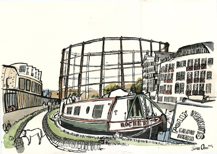 James Oses - Illustrator. Love his work