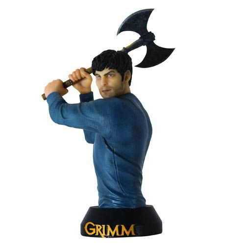Grimm TV Show Nick Burkhardt Bust - Dark Horse - Grimm - Busts at Entertainment Earth
