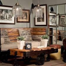 2658 Besten Vintage Industrial Decor: Living Room Bilder Auf ... Wohnzimmer Vintage Style Braun